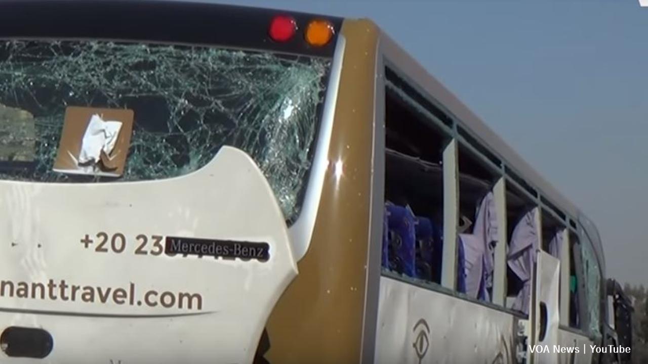 Egypt:16 injured in roadside bomb near the Giza pyramids.