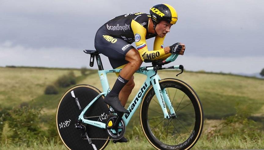 Giro d'Italia, Primoz Roglic dopo il successo nella crono: 'Non sono sorpreso'