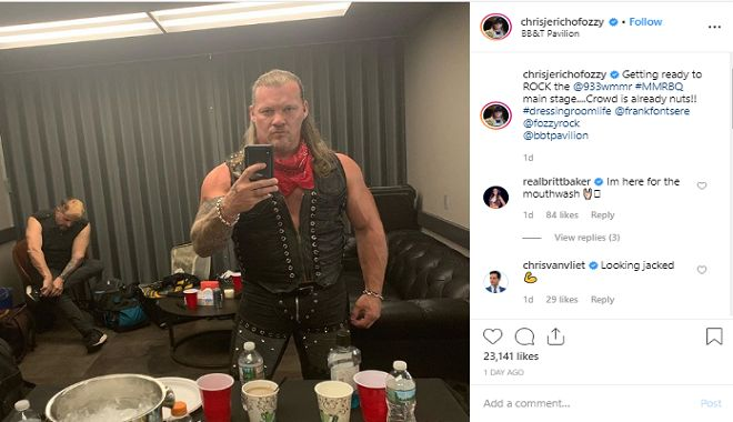 Chris Jericho is taking the next step in his storied career