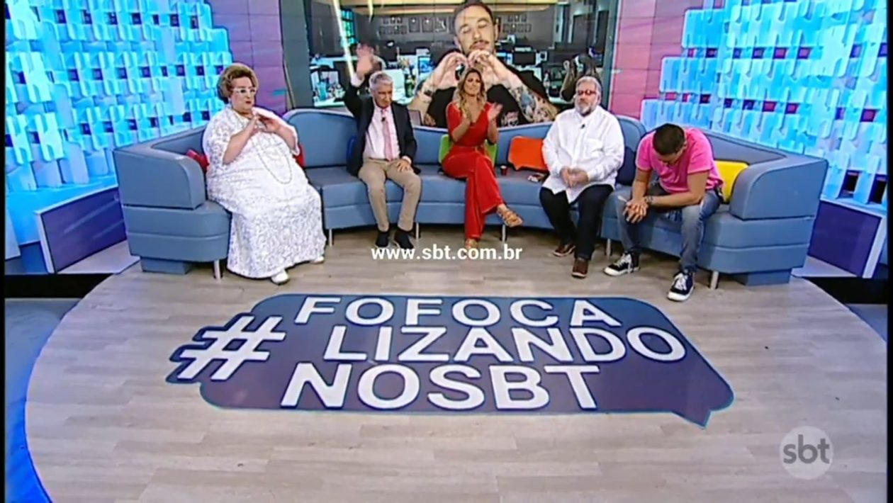 Lívia Andrade e MC Mirella discutem ao vivo no SBT