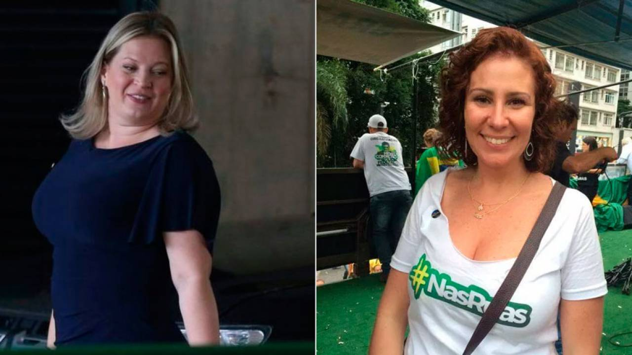Deputadas Carla Zambelli e Joice Hasselmann, do PSL, batem-boca nas redes sociais