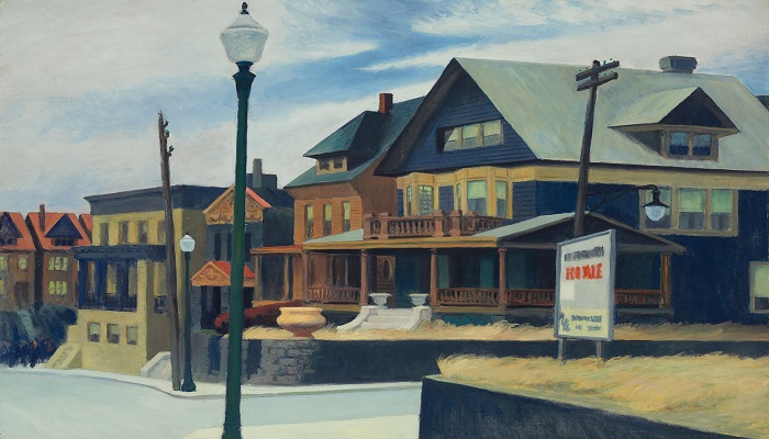 Edward Hopper's final painting on view at the Currier Museum in N.H.