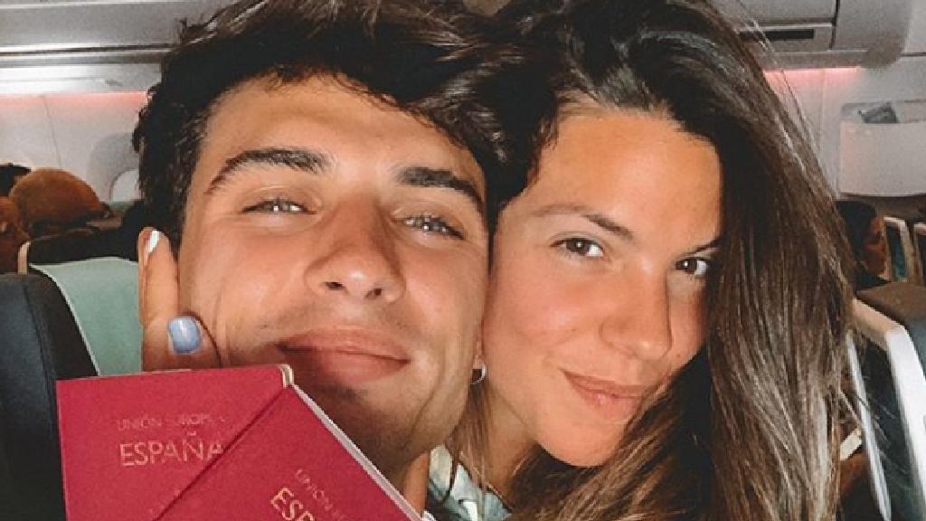 Laura Matamoros y su novio se libran de un accidente en La Habana