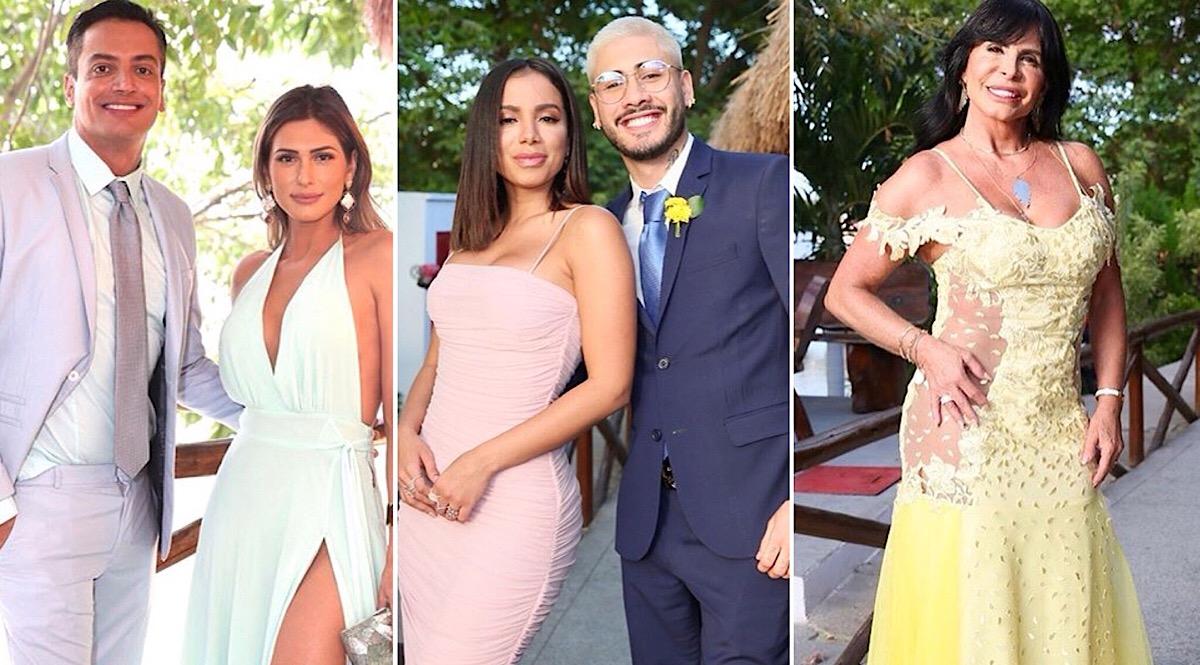 Os looks dos famosos no casamento de Carlinhos Maia e Lucas Guimarães