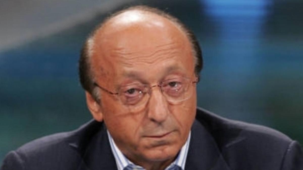 Juventus, Moggi: 'Conte può ancora firmare per la Vecchia Signora'