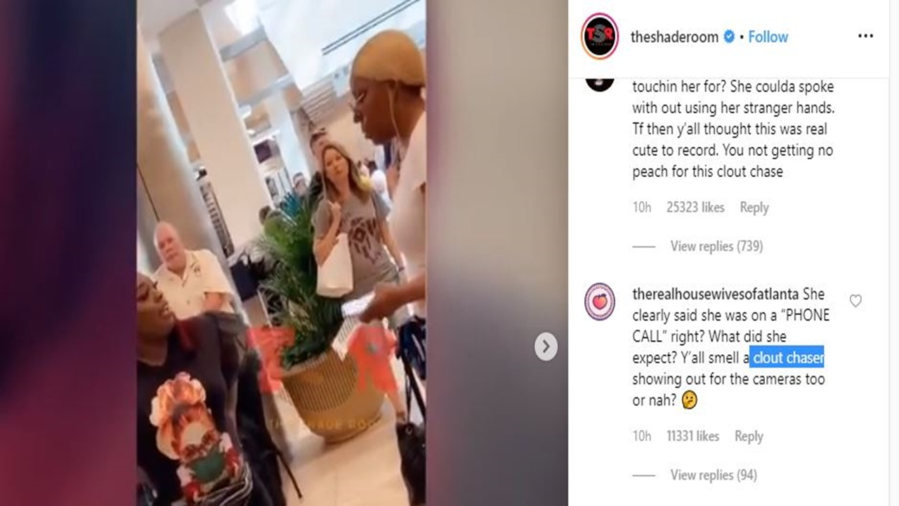 'Real Housewives of Atlanta': NeNe Leakes in ugly encounter with fan at the airport