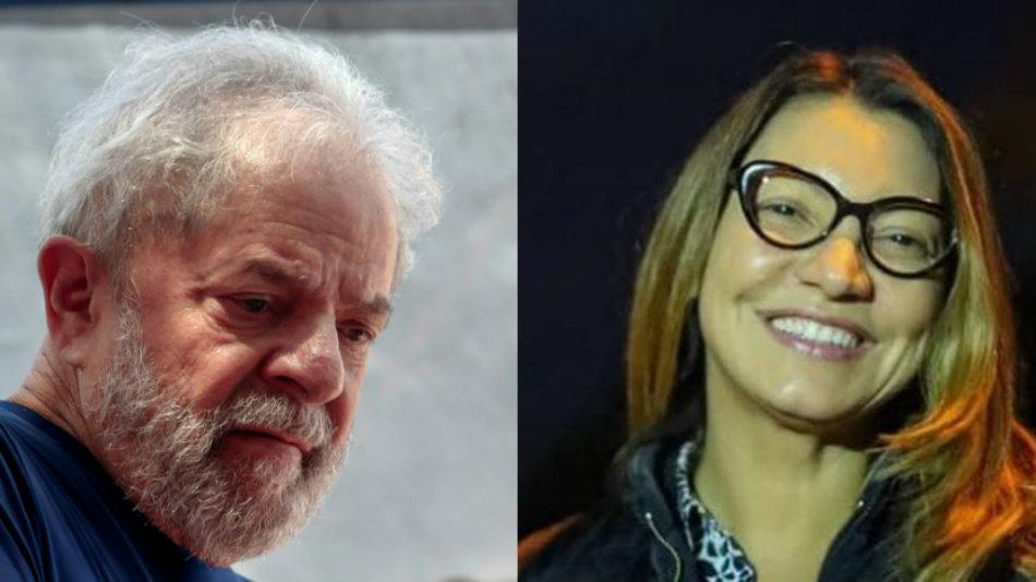 Namorada de Lula trabalha em estatal e recebe salário de 17 mil reias