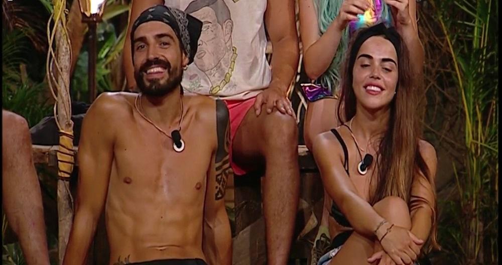 Fabio y Violeta se reconcilian en Supervivientes y lo demuestran con un apasionado beso