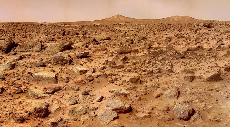 Marte pode contar maior quantidade de água em seu polo norte