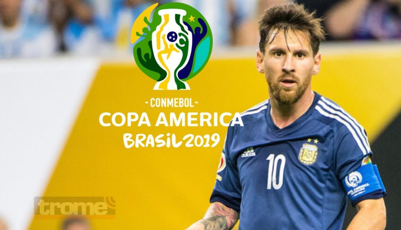 Messi se dispone a ganar la Copa Am-erica de una vez por todas