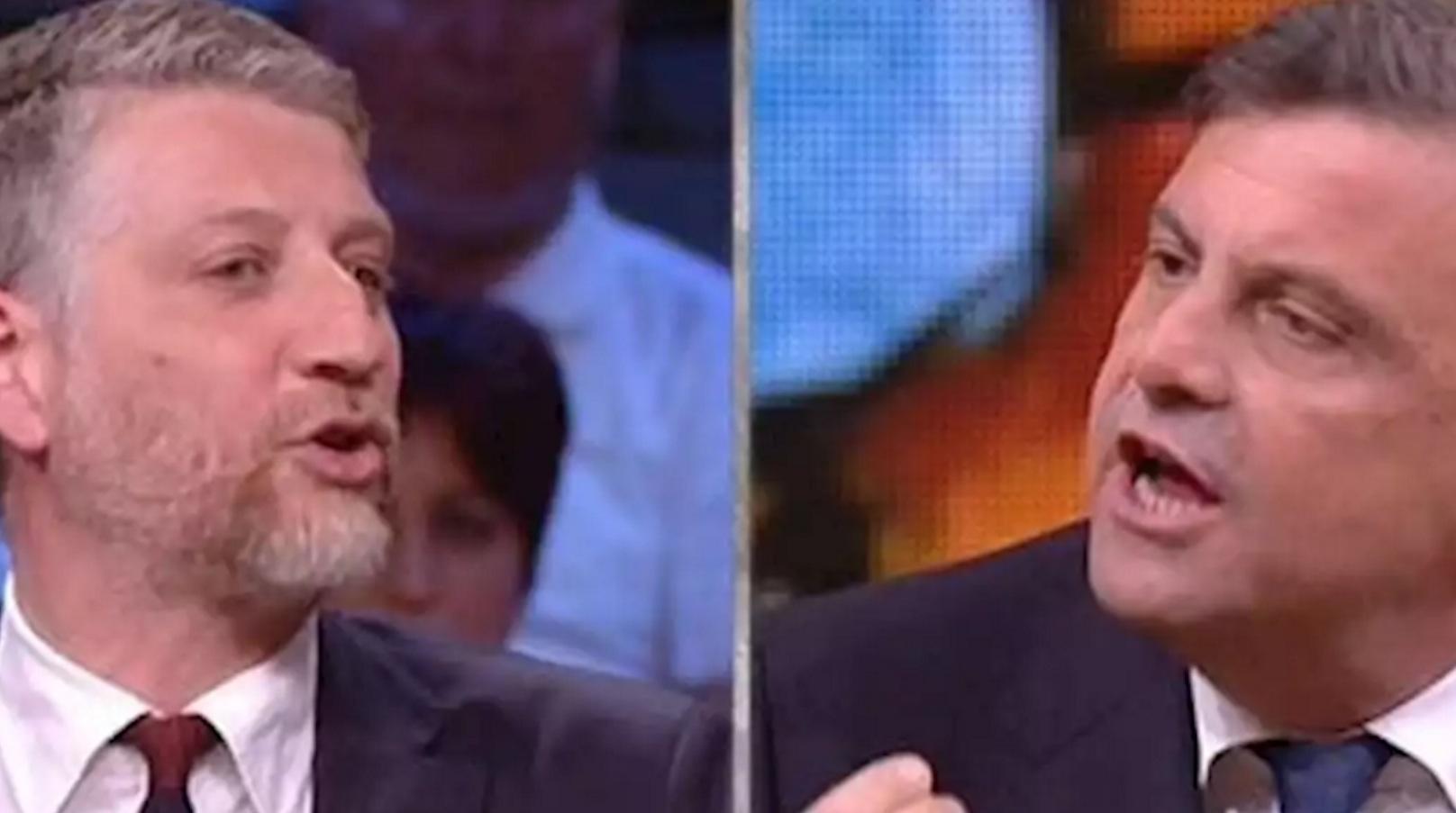 Calenda attacca duramente Giuli dandogli del fascista, poi si scusa