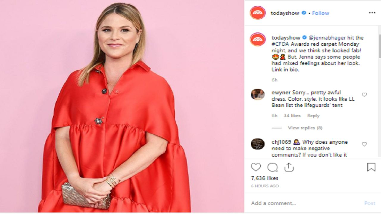 Jenna Bush Hager laughs off rude comments about her apparel