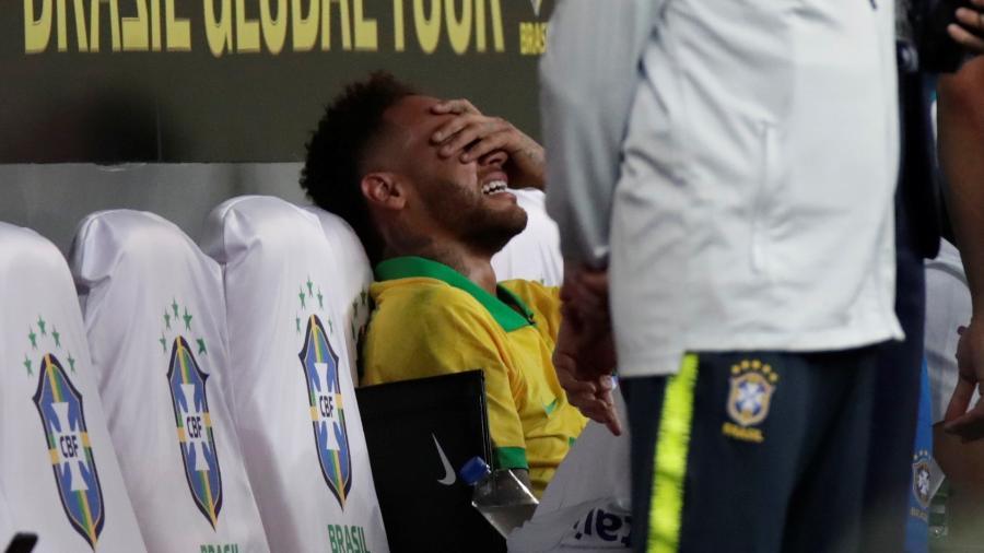 Neymar é cortado da seleção brasileira