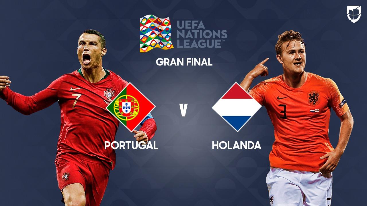 Portugal y Holanda disputarán la final de la UEFA Nations League