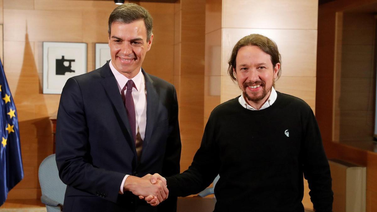 Pablo Iglesias tras reunirse con Pedro Sánchez apuesta por un 'Gobierno de cooperación'