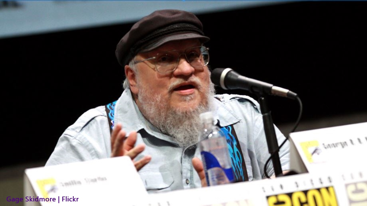 George RR Martin works on the 'Elden Ring' game, 'The Winds of Winter' delays expected