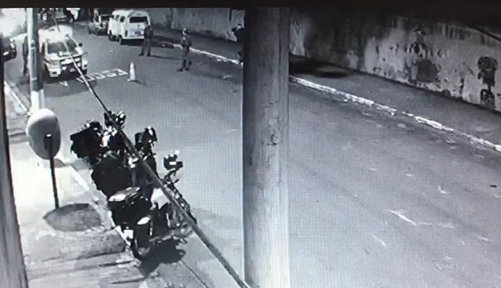 Vídeo mostra vítima caindo no chão após disparos contra Rafael Miguel e sua família