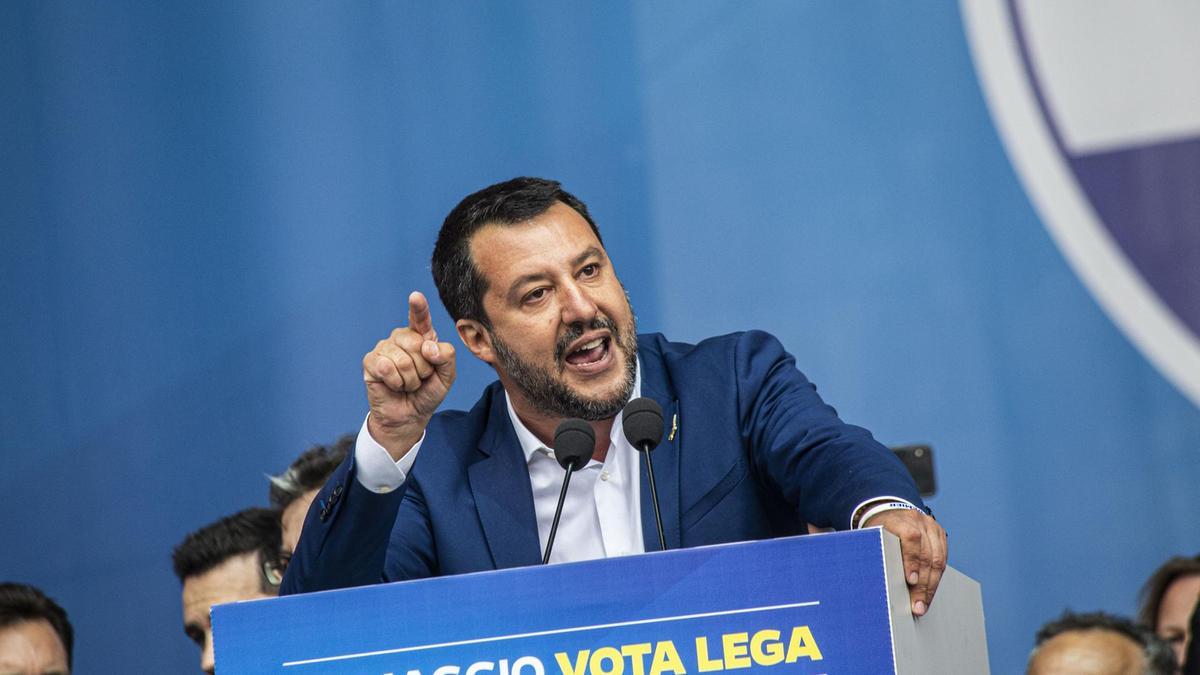 Salvini ha postato un video di Padoan dove proponeva accoglienza in cambio di flessibilità