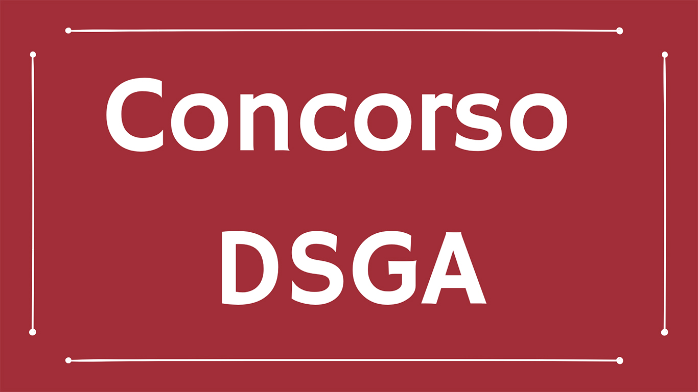 Concorso Dsga: concluse le tre giornate della prova preselettiva
