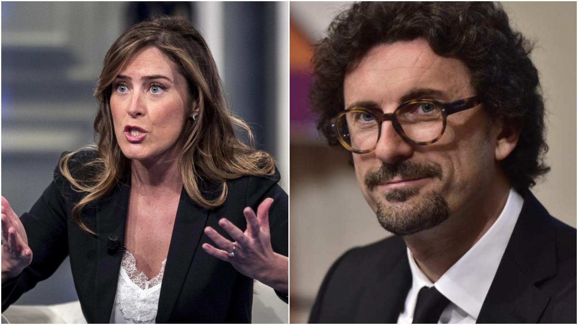 Maria Elena Boschi ha espresso il proprio dissenso contro Toninelli