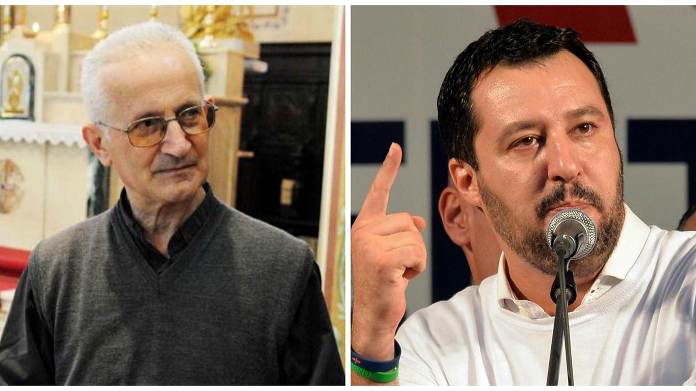 """Don Giorgio De Capitani nei confronti di Salvini: """"È un ladro, uccidiamolo"""""""