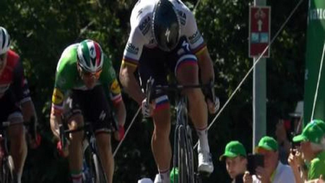 Giro di Svizzera, Peter Sagan vince la terza tappa