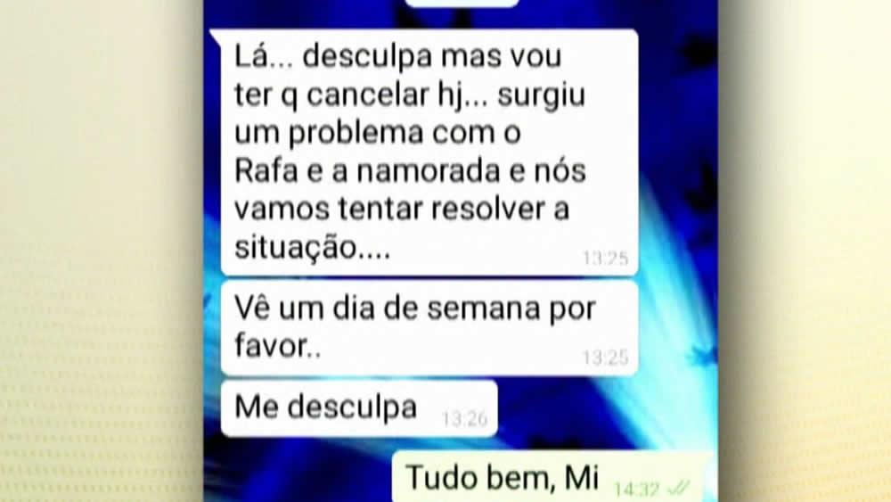 Antes de morrer, mãe de Rafael Miguel enviou mensagem para amiga