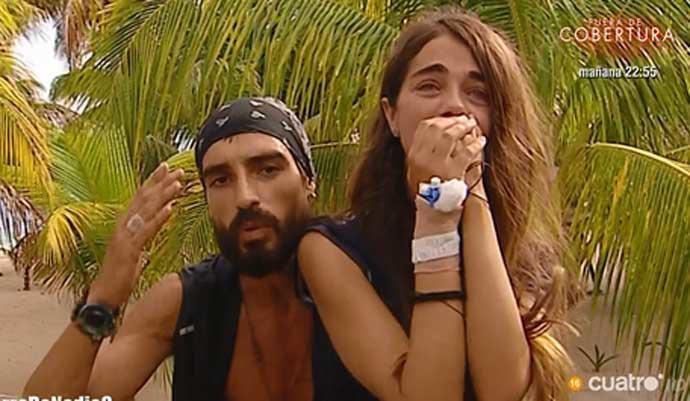 Violeta abandona Supervivientes y asegura su plaza para el próximo año