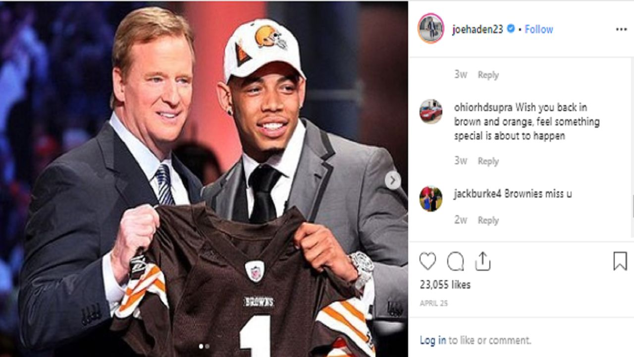 Joe Haden sees talent in the Browns, wishes they had it when he was there