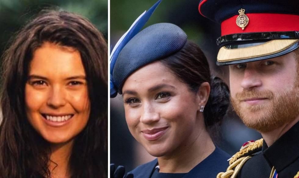 El príncipe Harry flirteó con Sarah Ann Macklin cuando inició su romance con Meghan Markle