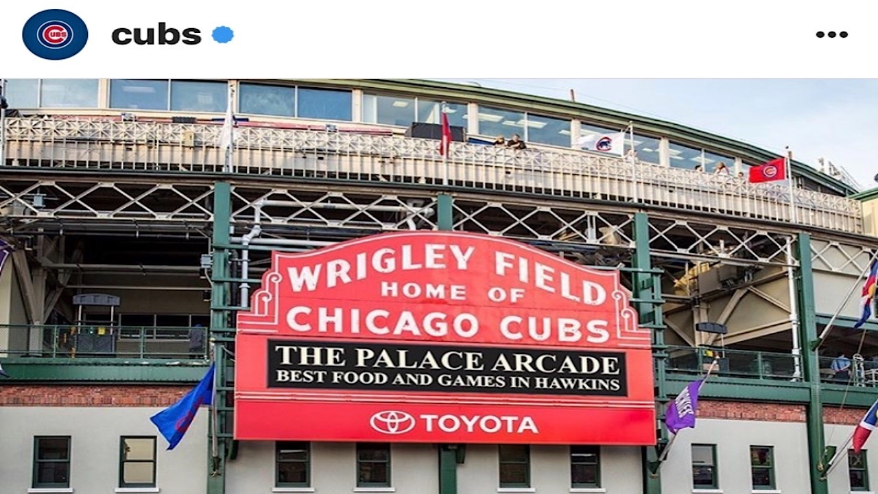 What you how about the Chicago Cubs series against the Whitesox