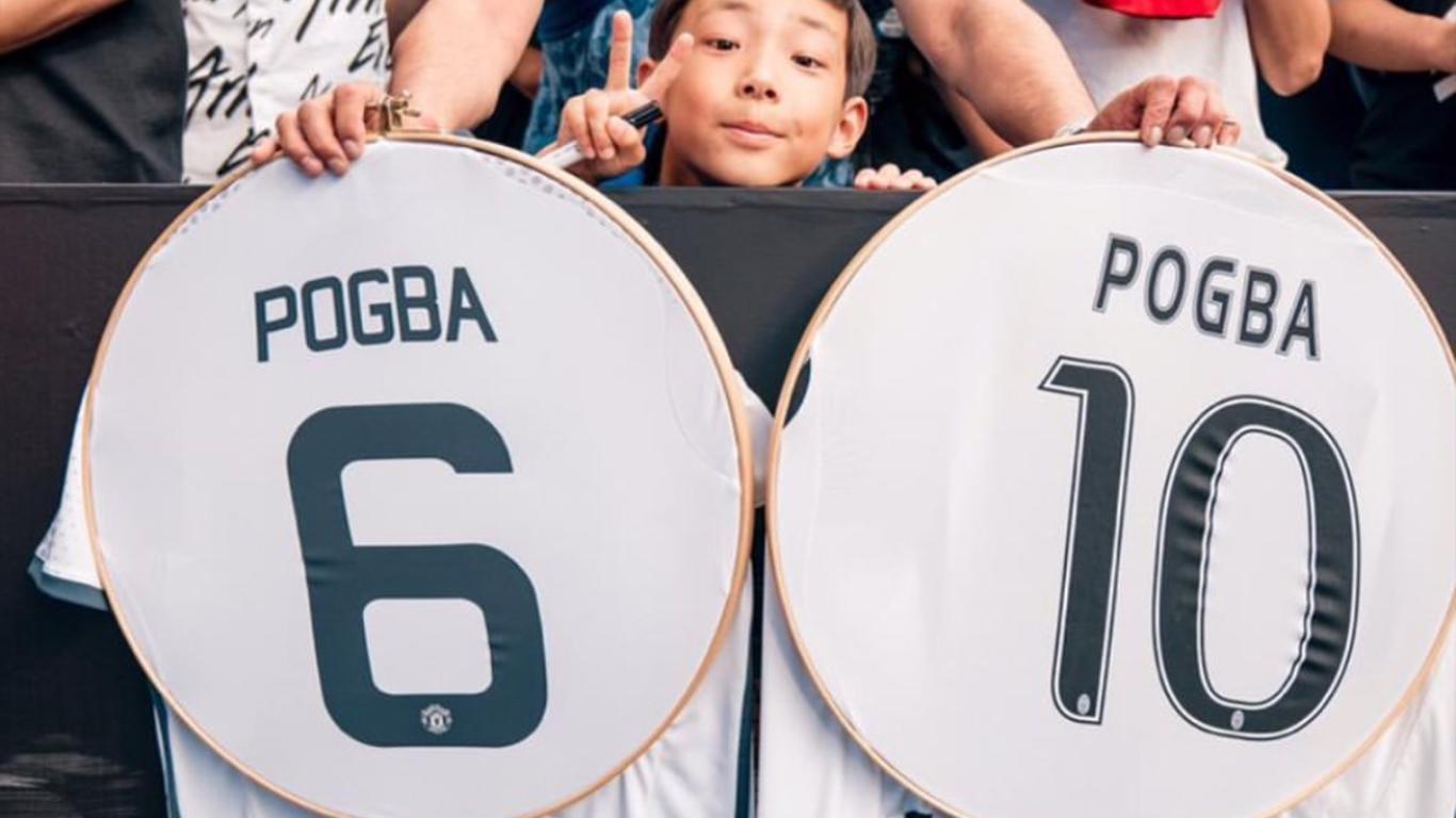 Juventus, Pogba posta foto su Instagram della sua vecchia maglia bianconera