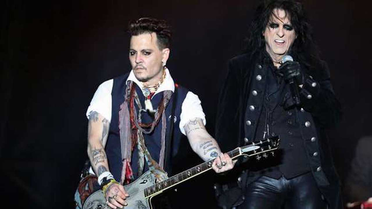 Johnny Depp: in radio con l'album 'Rise', nelle sale con 'Arrivederci professore'