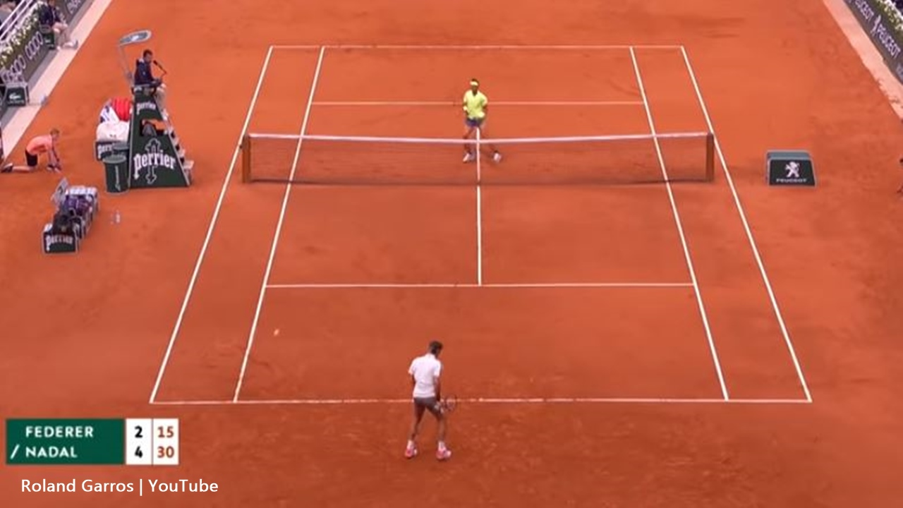 Federer and Nadal always have a strong rivalry and this year Federer lost at Roland Garros