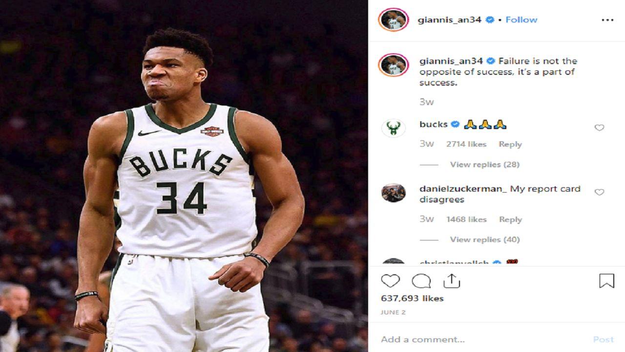 Giannis Antetokounmpo highlights a draft turnaround for the Bucks