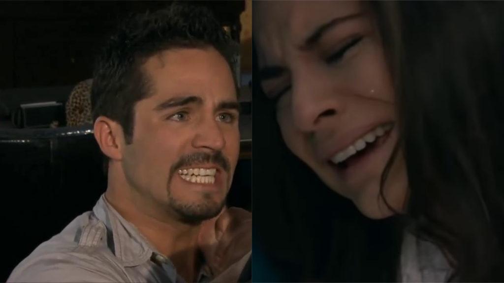 Em 'A Que Não Podia Amar', Cínthia descobre que Marquinho é filho de Rogério