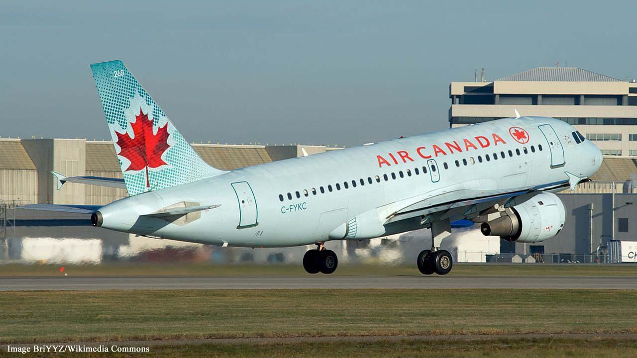 Air Canada traps sleeping passenger on plane in the dark