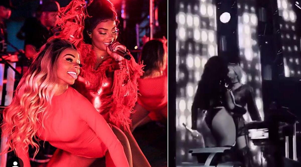 Ludmilla deixa platéia de show eufórica ao beijar namorada no palco