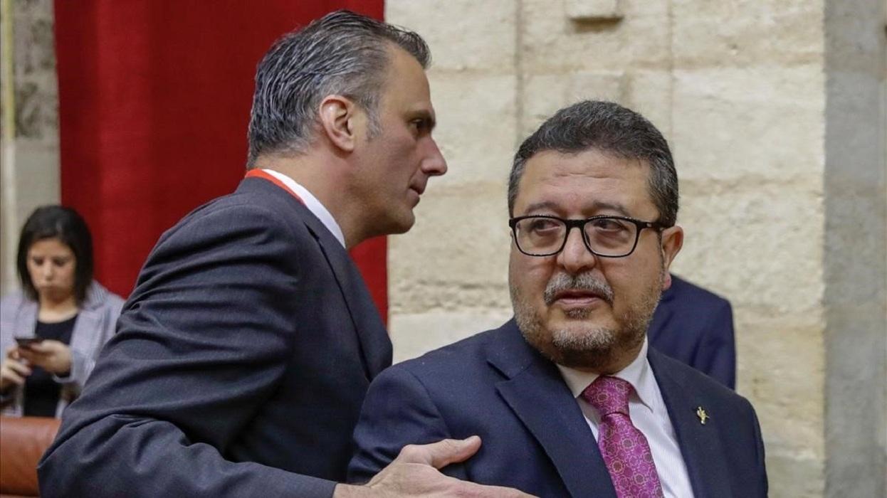 La Manada: VOX amenaza con sancionar a Serrano y él se da de baja por 'linchamiento'