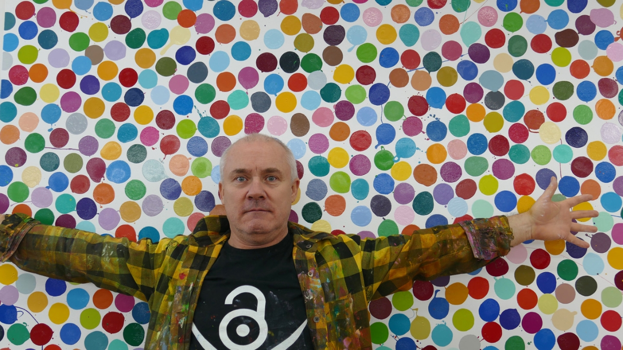 Damian Hirst continues to breach copyrights