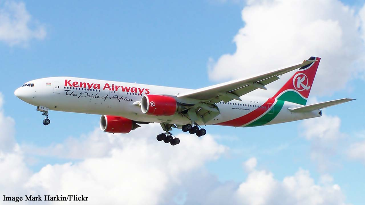 Kenya Airways: Body of stowaway falls from plane into Clapham garden
