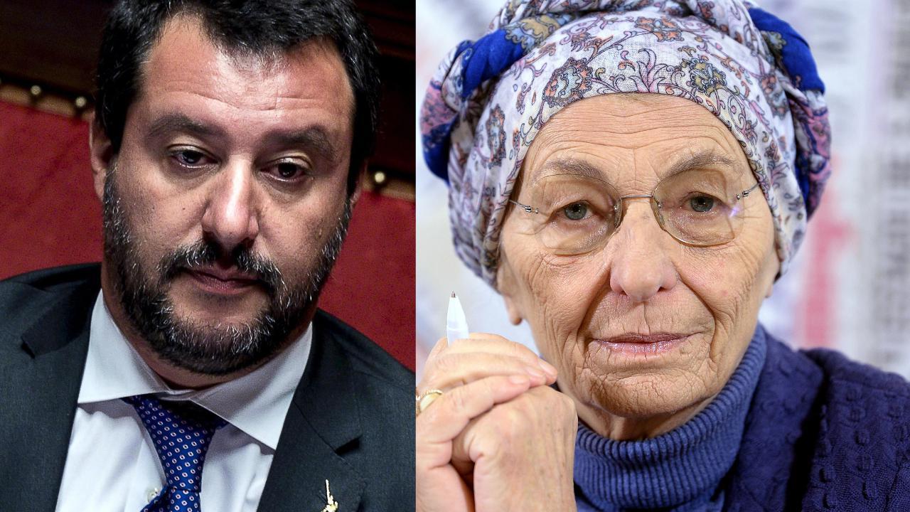 Emma Bonino polemizza con Matteo Salvini