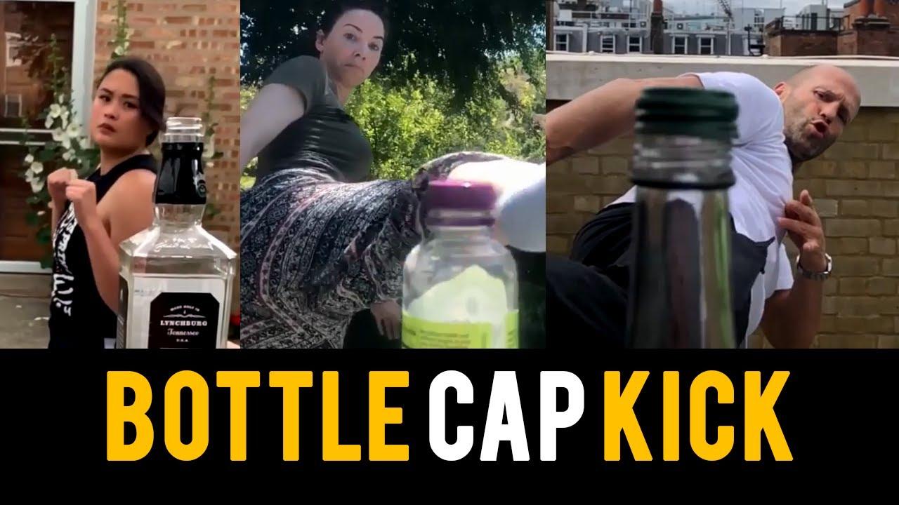 #BottleCapChallenge el nuevo reto viral