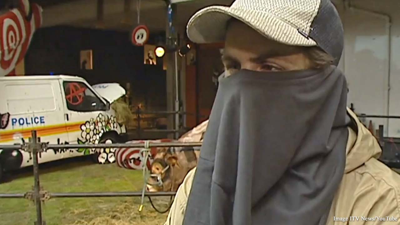 Long-lost ITV interview with 'Banksy' uncovered