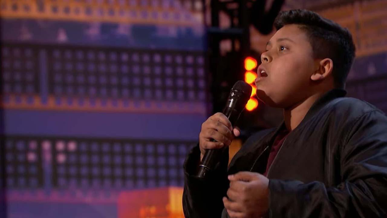 'America's Got Talent:' 12-year-old Luke Islam gets the Golden Buzzer from Julianne Hough