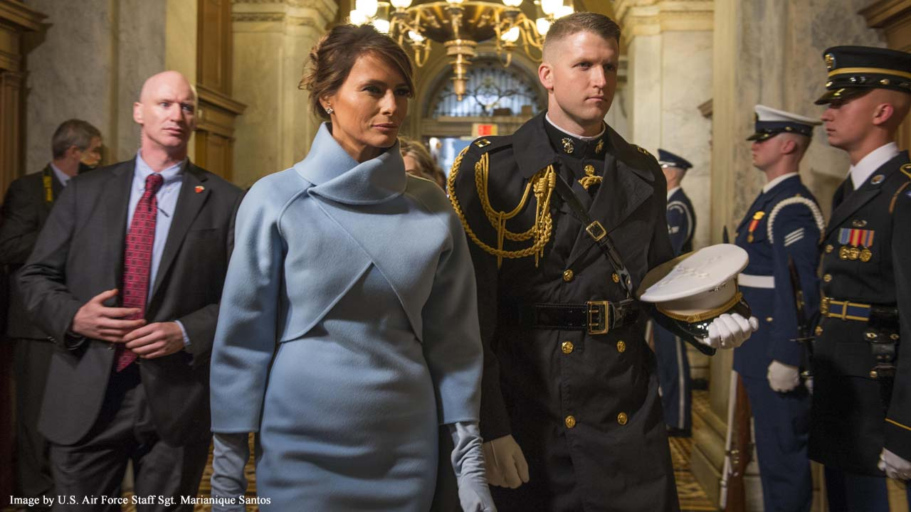 First Lady Melania Trump 'honored' with life-size statue in Slovenia