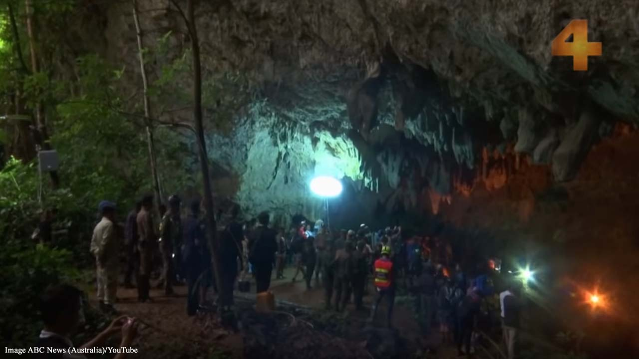 'The Cave:' Film on rescue of Thai coach and kids stars real heroes in rescue