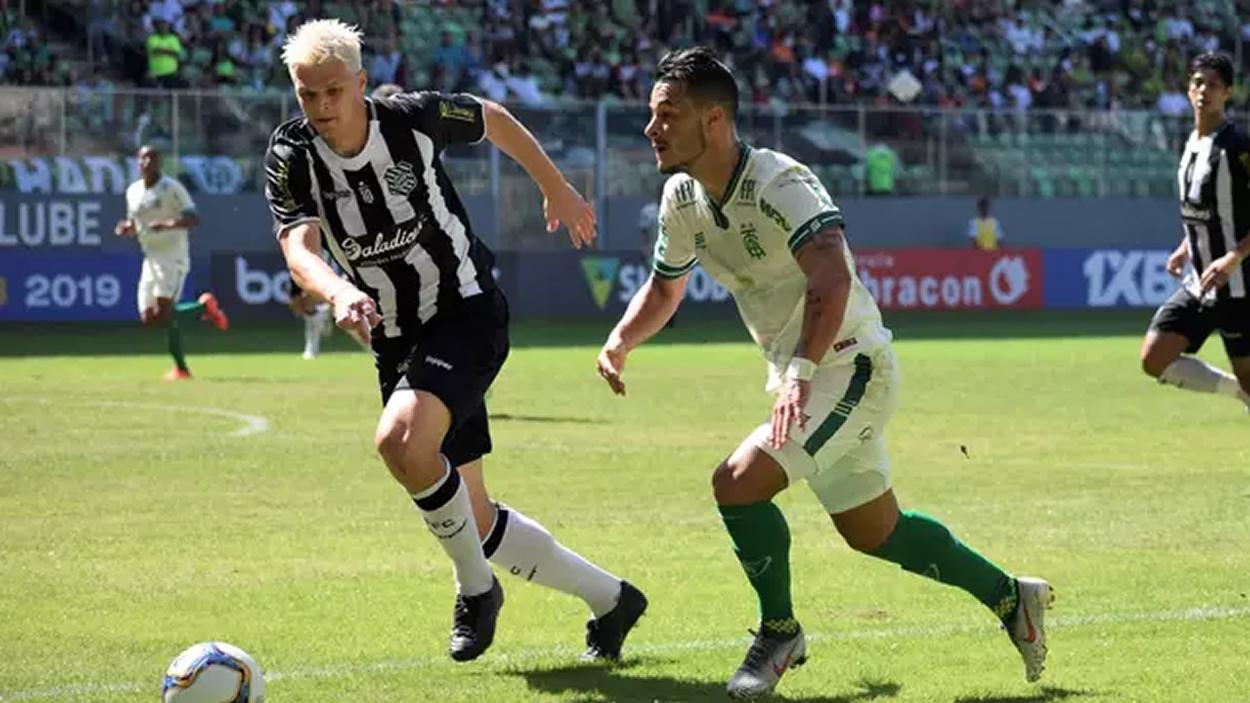 Figueirense goleia América Mineiro em pleno Independência