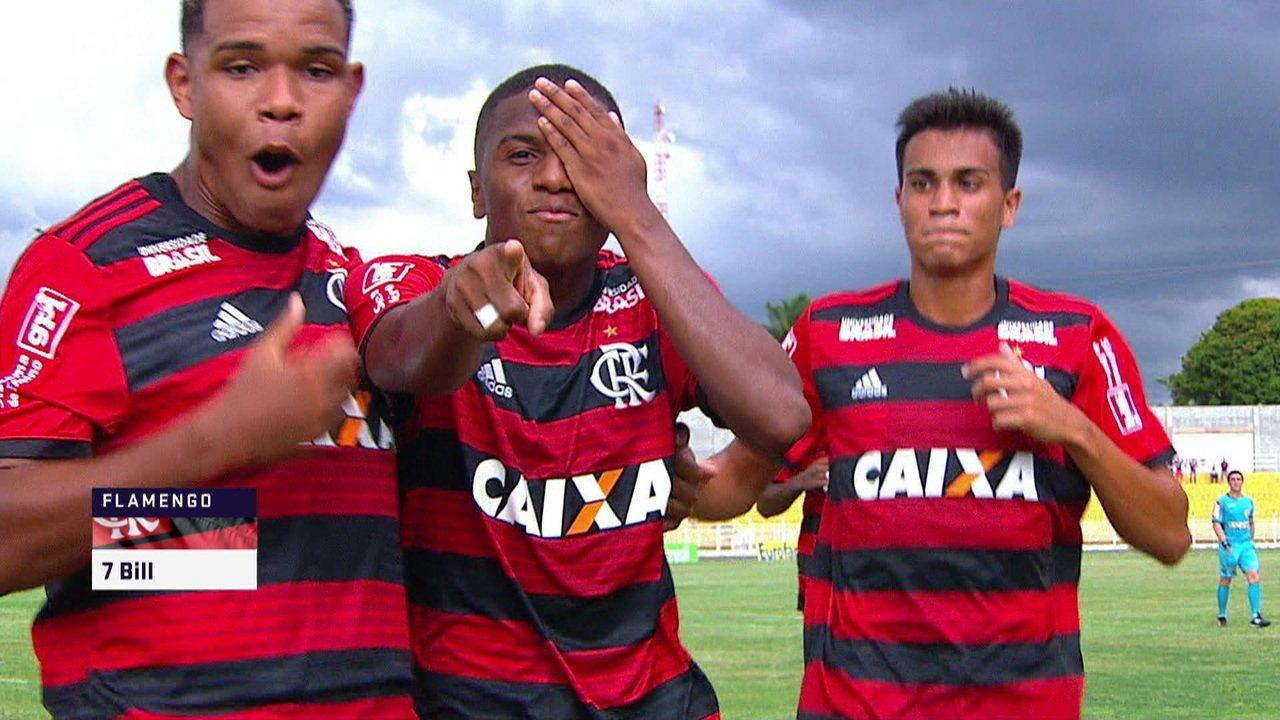 Flamengo empresa sua joia da base para a Ponte Preta