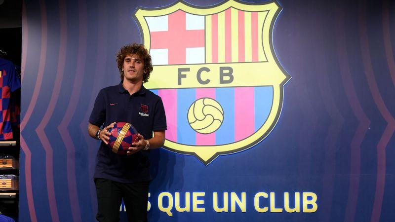 Barcelona apresenta francês Griezmann oficialmente